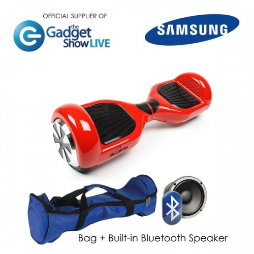 6.5 INCH CLASSIC HOVERBOARD SWEGWAY IN RED