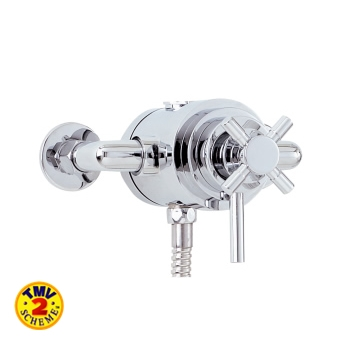 Bathroom accessories including valves, shower heads, towel rails etc