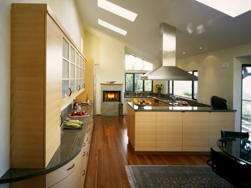 Classic look kitchen.