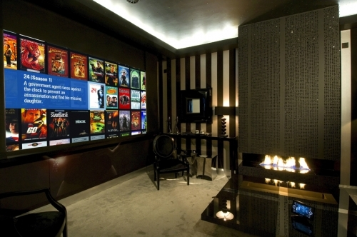 Uber Cinema/sitting room