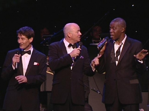 The British Rat Pack trio from The Legend of Swing Show