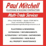 Paul Mitchell Plastering & Building Contractors
