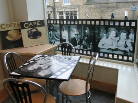 window graphics to cafe bar