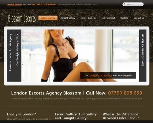 London Escorts Agency Blossom