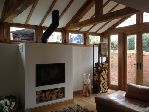 oak framed extensions, builder of oak framed structures