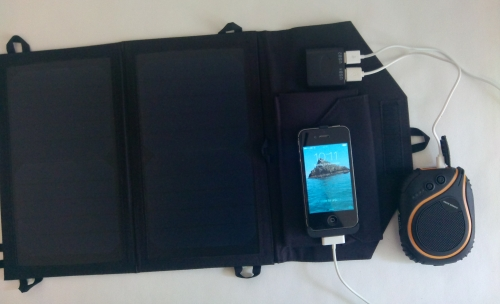 MSC 12w foldable solar panel charger