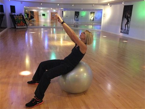 Core exercises as part of a Weight Loss Programme