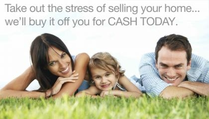 Take the stress out of selling your house today...we'll buy it for cash today!