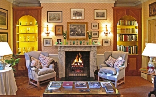 A classic study in a country home