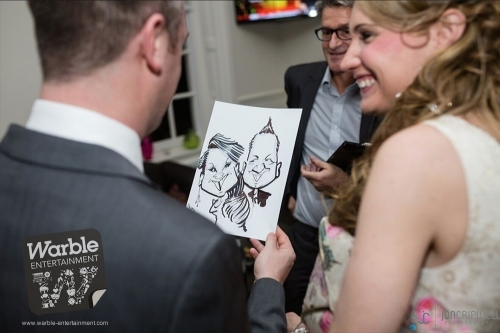 Caricaturist Hire In The Uk