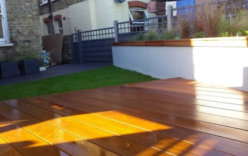 Small garden design East London