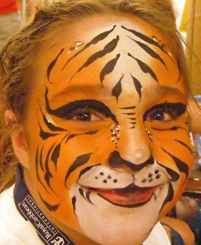 smiling tiger