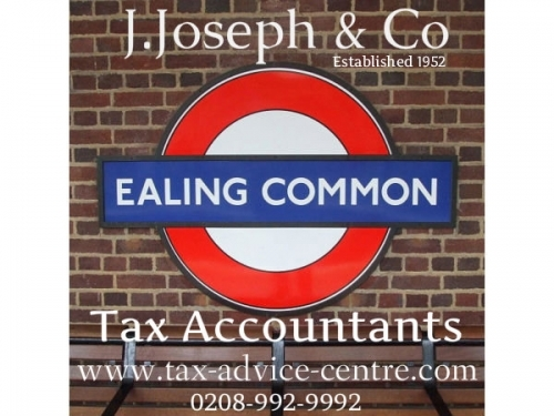 J Joseph Co Tax Accountants Est 1952 Opposite Ealing Common Tube Station London Uk Www Tax Advice Centre Com