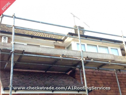 a1 roofing services in rochester