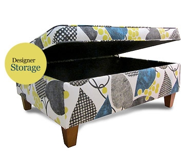 Designer Storage Footstool
