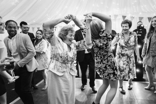 The wedding disco