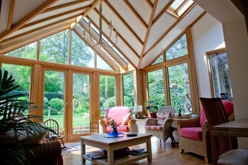 Oak Garden Room Conservatory in Surrey
