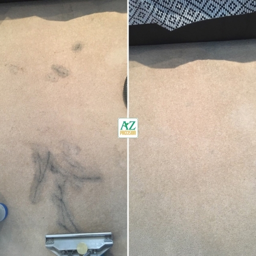 Before After Carpet Stain Removal London Logo