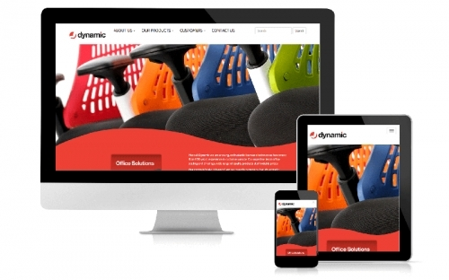 Responsive Web Design & Development Dynamic Office Seating