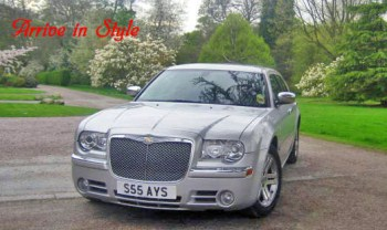 superb chrysler 300c full leather sat nav air con etc