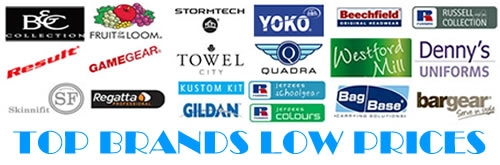 All the major brands