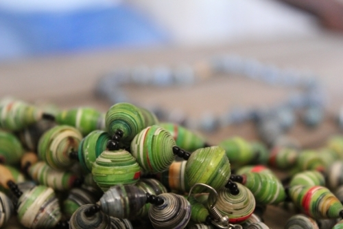 Slum Project Kenyan Recycled Paper Beads