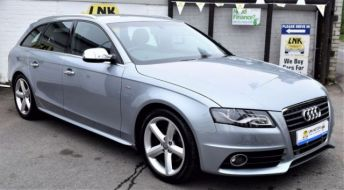 2009 59 AUDI A4 2.0 AVANT TDI S LINE SPECIAL