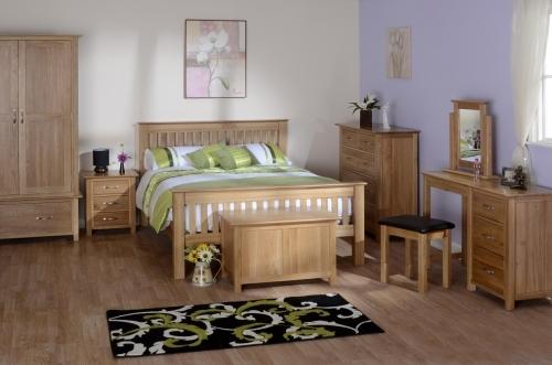 Oxford Contemporary Oak Bedroom Furniture
