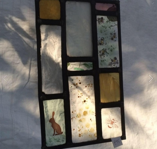 Nature~leaded panel | Stained Glass Windows and stained glass restoration