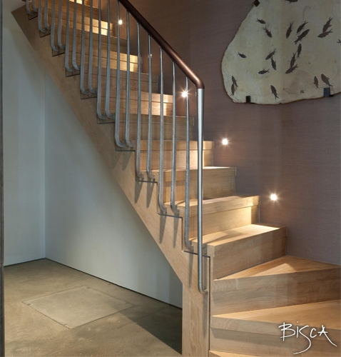 Bespoke Basement Staircase by Bisca