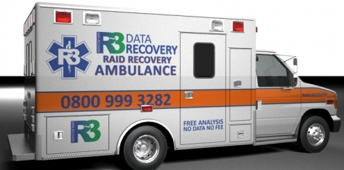 R3 Emergency Data Recovery Ambulance