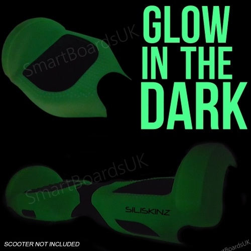 """6.5"""" SILISKINZ Silicone Case - Glow In Dark"""