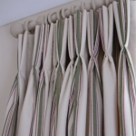 Lined Interlined Pinch Pleat Curtain In Ferring