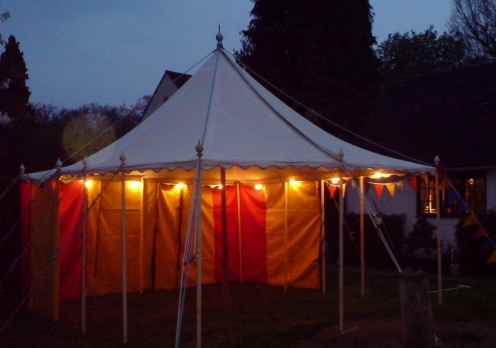 vintage tent hire cornwall