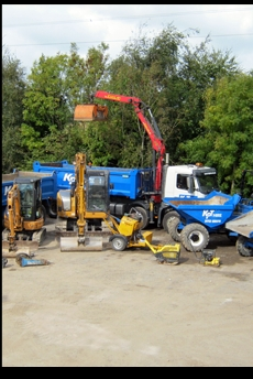 Aggregate Delivery Plymouth Devon Kpt Digger1
