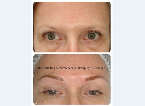 Eyebrows Restoration Microblading and Permanent Makeup by El Truchan @ Perfect Definition