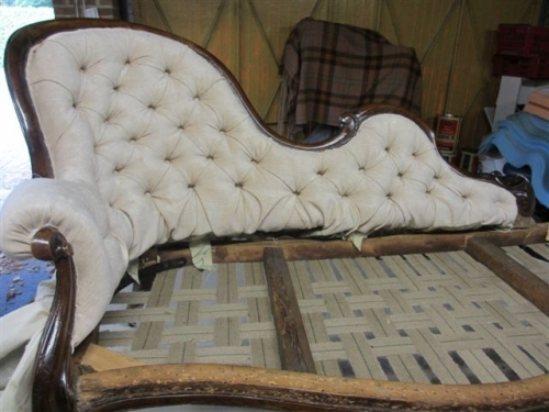 Chaise longue - Ready for springs