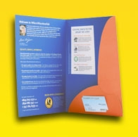 Cheap Presentation Folders and other Printed Folders from just £250, printed by http://tradeprintinguk.com/presentation-folders-printing.html