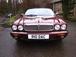 Jaguar XJ8 V8 - Burgundy with cream leather upholstery and walnut trim