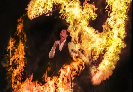 Spectacular Special Effects - Spark Fire Dance