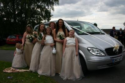 Mercedes Wedding Minibus