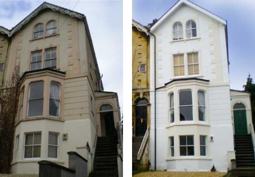 House Painting Before After