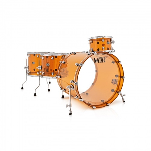 NATAL ARCADIA ACRYLIC DRUM KIT UK