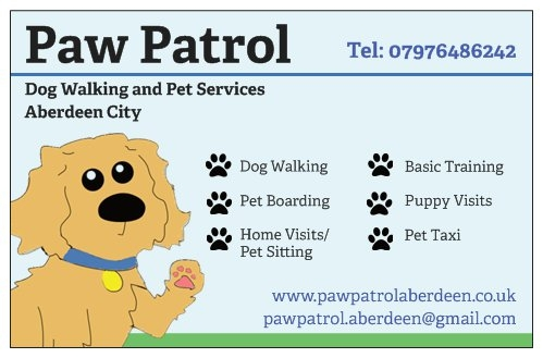 Heres a list of our services!