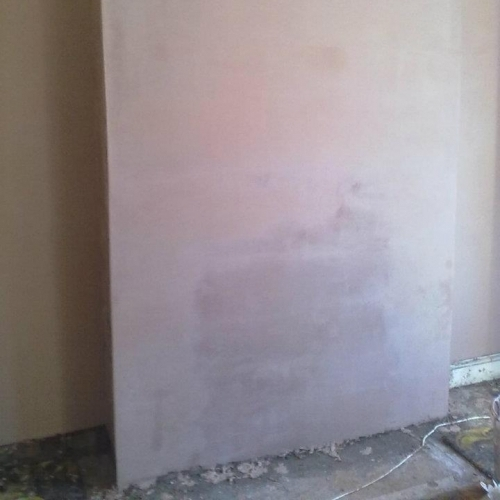 Chimney Breast after