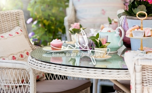1 Afternoon Tea In The Garden