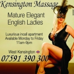 Mature Kensington Escorts