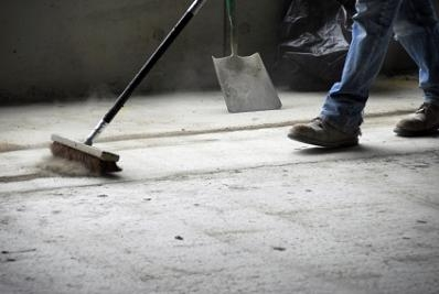 Builders Clean Sweeping