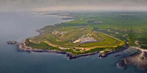 Aerial view of Anglesey Circuit