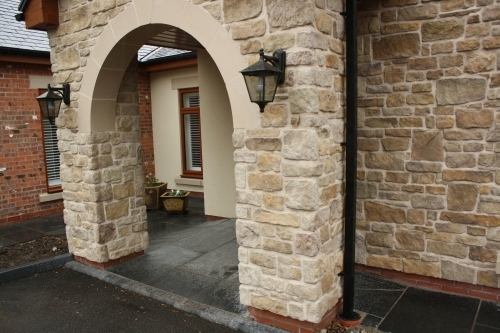 Buff Sandstone - Cast Stone Cladding